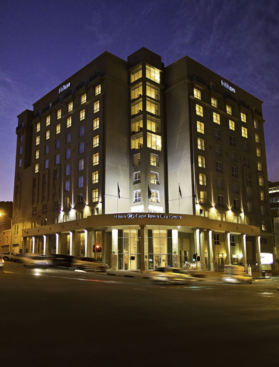 Exterior of Hilton Cape Town hotel