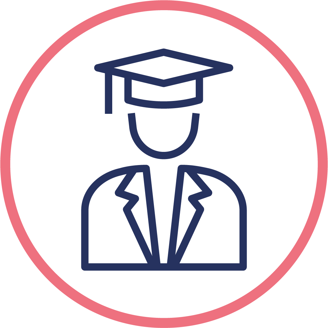 Youth employment programme graduate icon