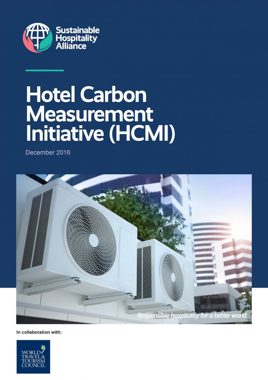 Hotel Carbon Measurement Initiative (HCMI) is a free methodology and tool for hotels to calculate the carbon footprint of hotel stays and meetings in their properties.