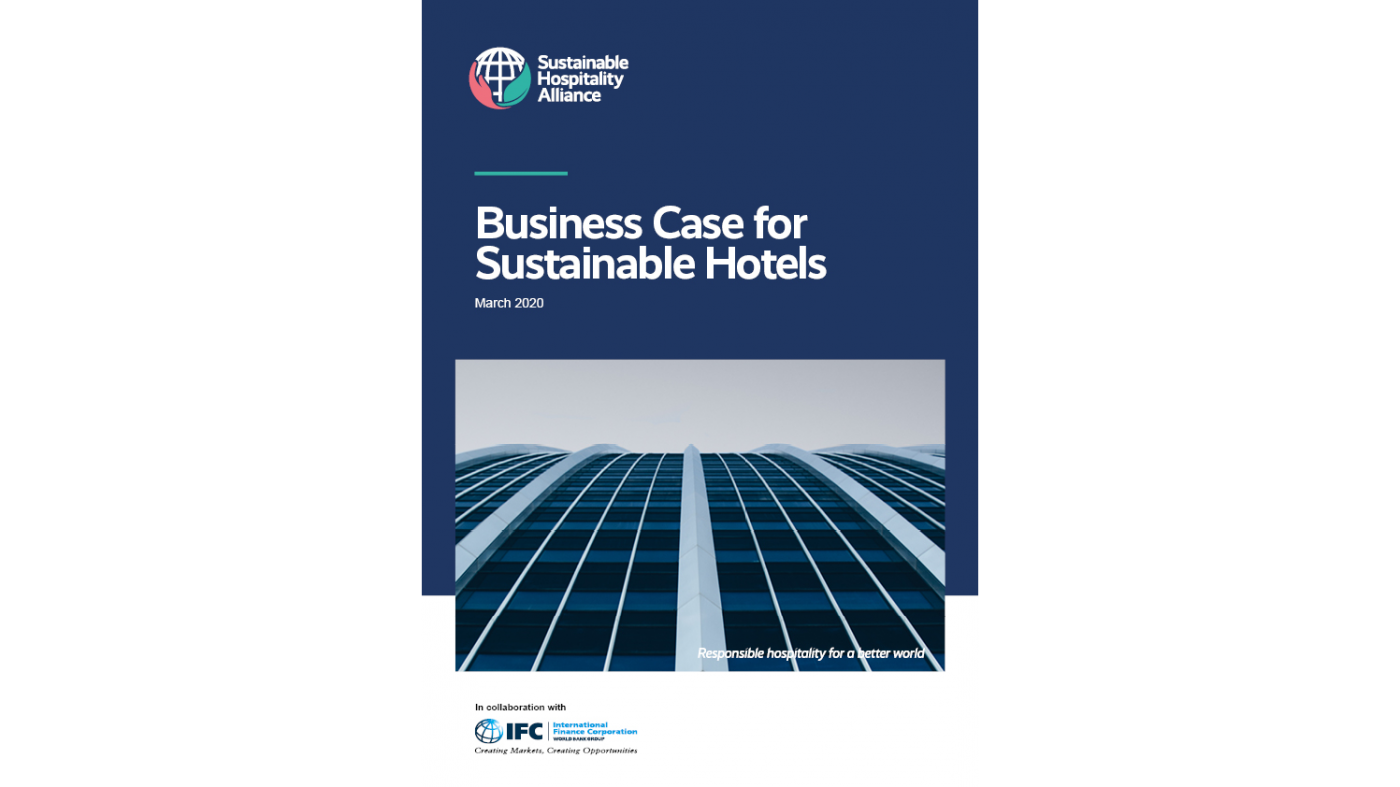 Business case for sustainable hotels cover