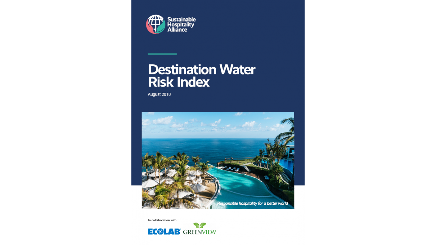 Destination Water Risk Index cover