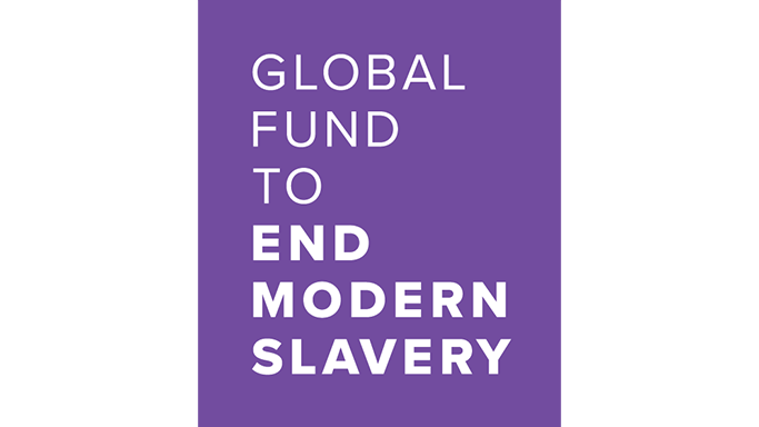 Logo for Global Fund to End Modern Slavery (GFEMS) - partners and funders of Sustainable Hospitality Alliance's youth employment programme to support victims of human trafficking and modern slavery.