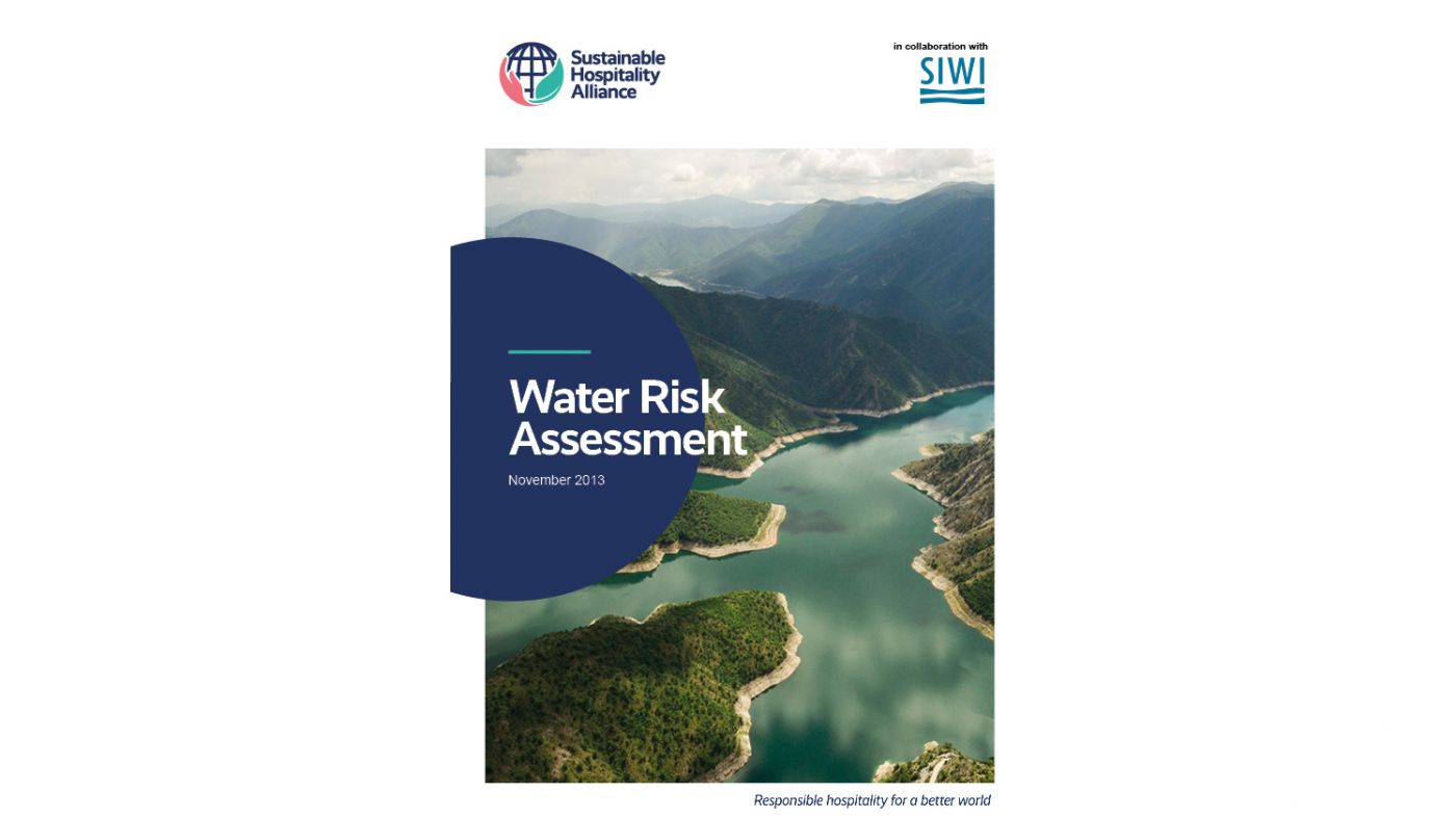 Water Risk Assessment cover