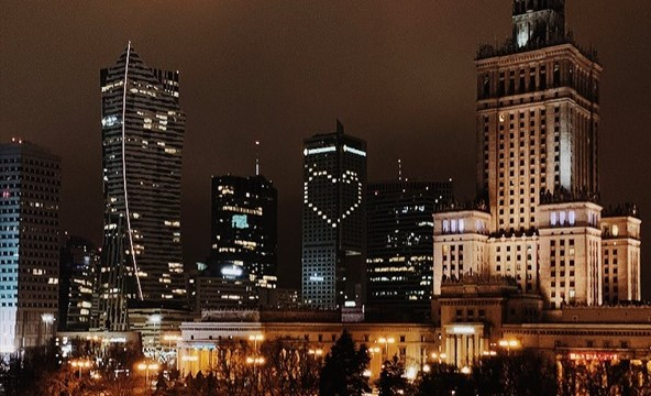 Hotels with heart-shaped lights