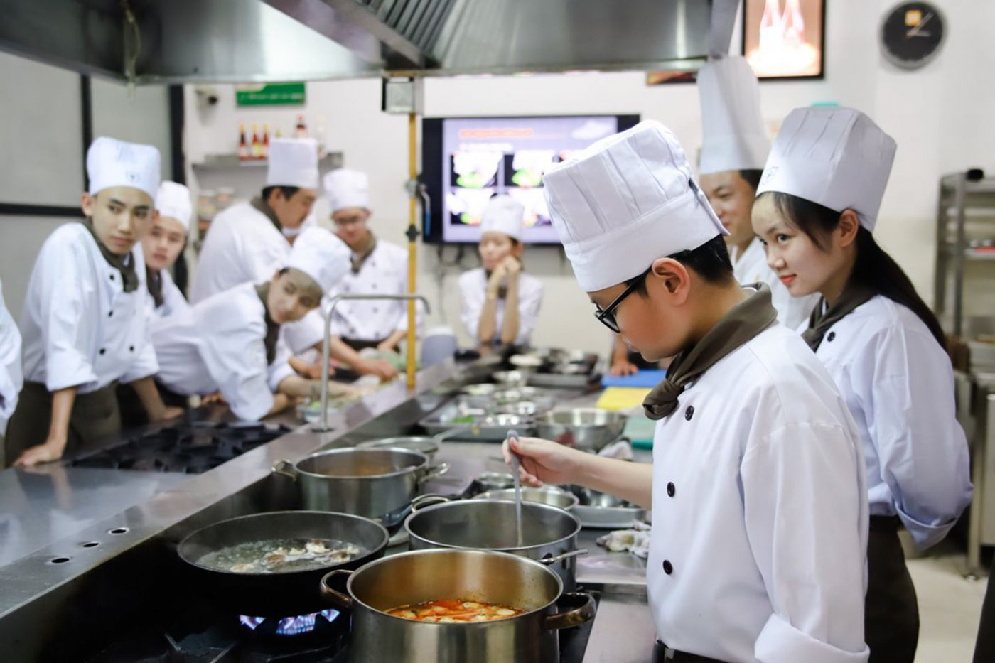 Youth employment hospitality