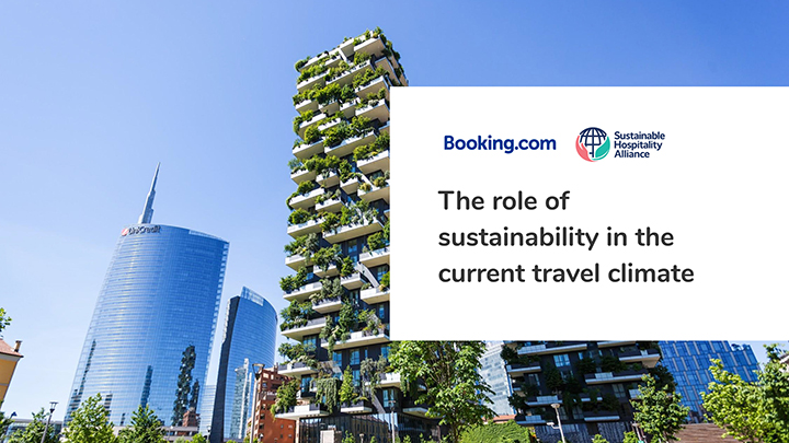 The role of sustainability in the current travel context