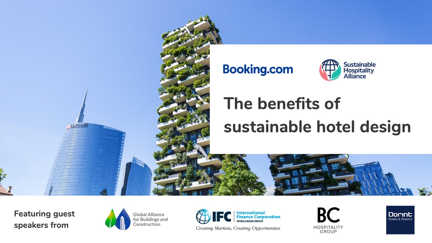The benefits of sustainable hotel design webinar