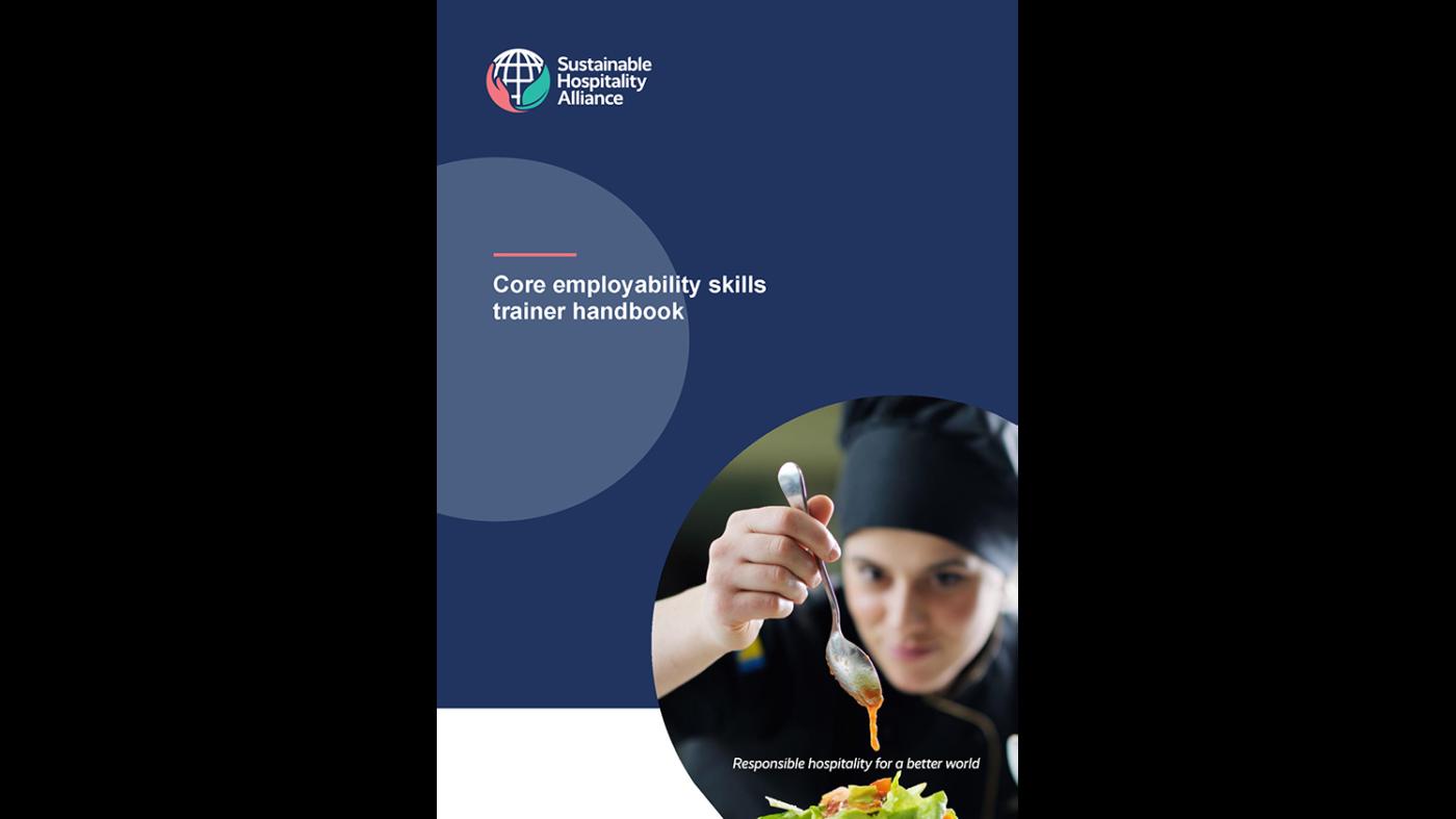 Sustainable Hospitality Alliance curriculum cover