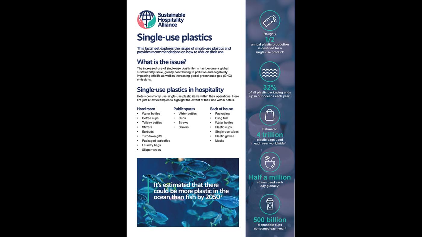 Single use plastic factsheet